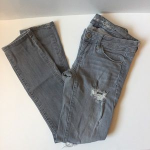 American Eagle Distressed Stretch Jeans Size 4